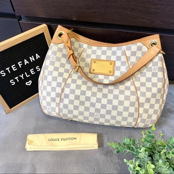 Louis Vuitton Handbags - Louis Vuitton Galliera PM Damier Azur Hobo Handbag